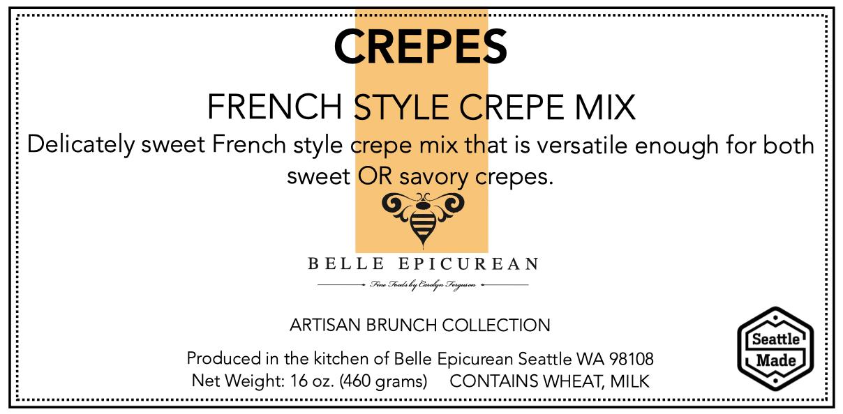 Front Panel, Pancake, Crepe