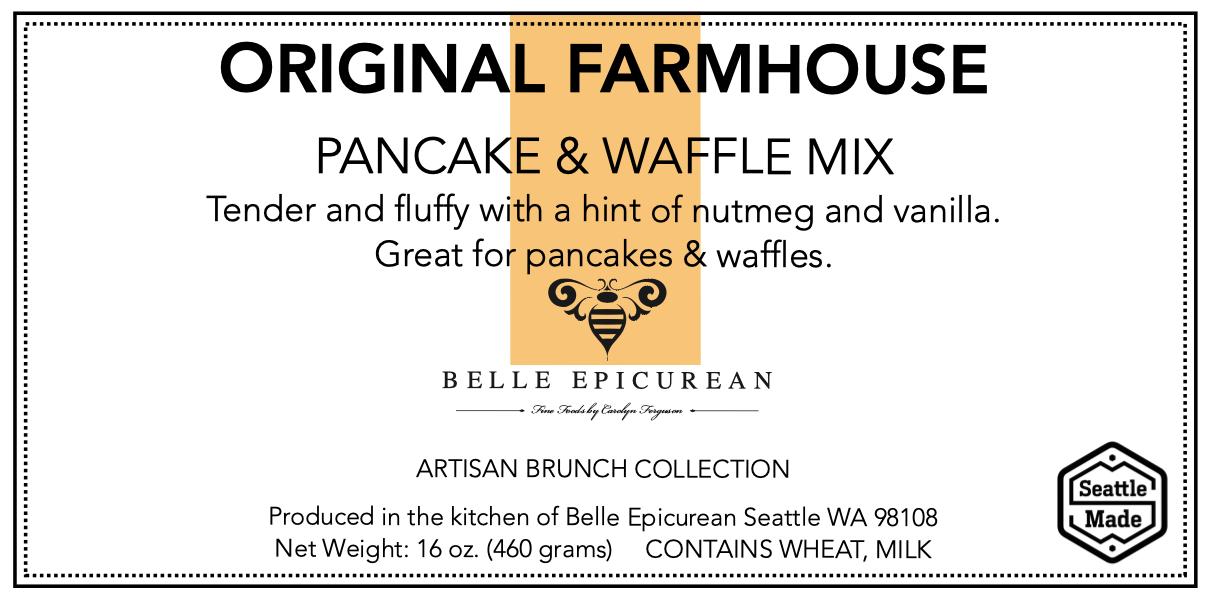 Front Panel, Pancake, Farmhouse